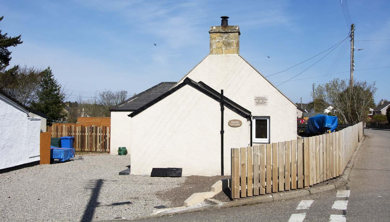 Fraser cottage, birthplace of Peter Fraser