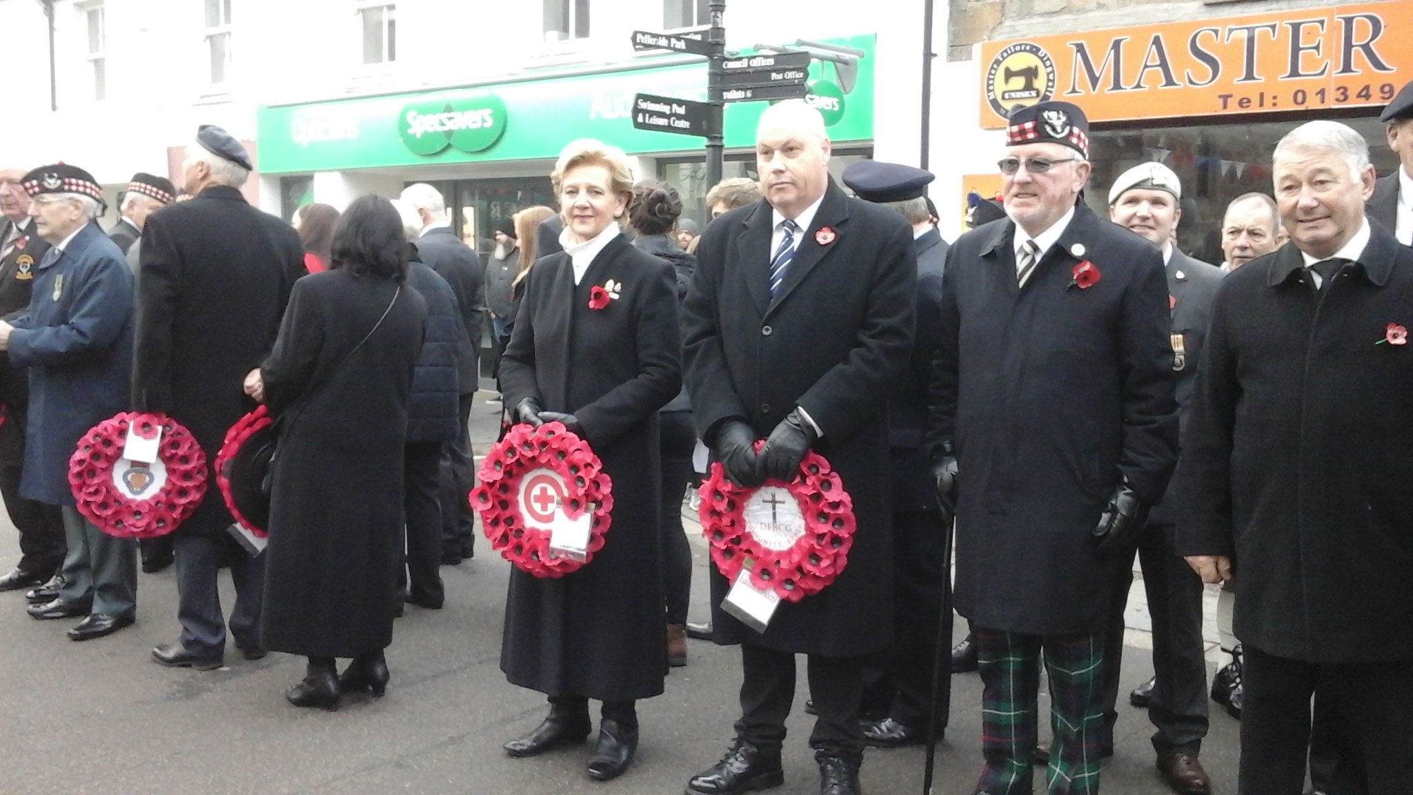 09 Dingwall Remembrance 2018