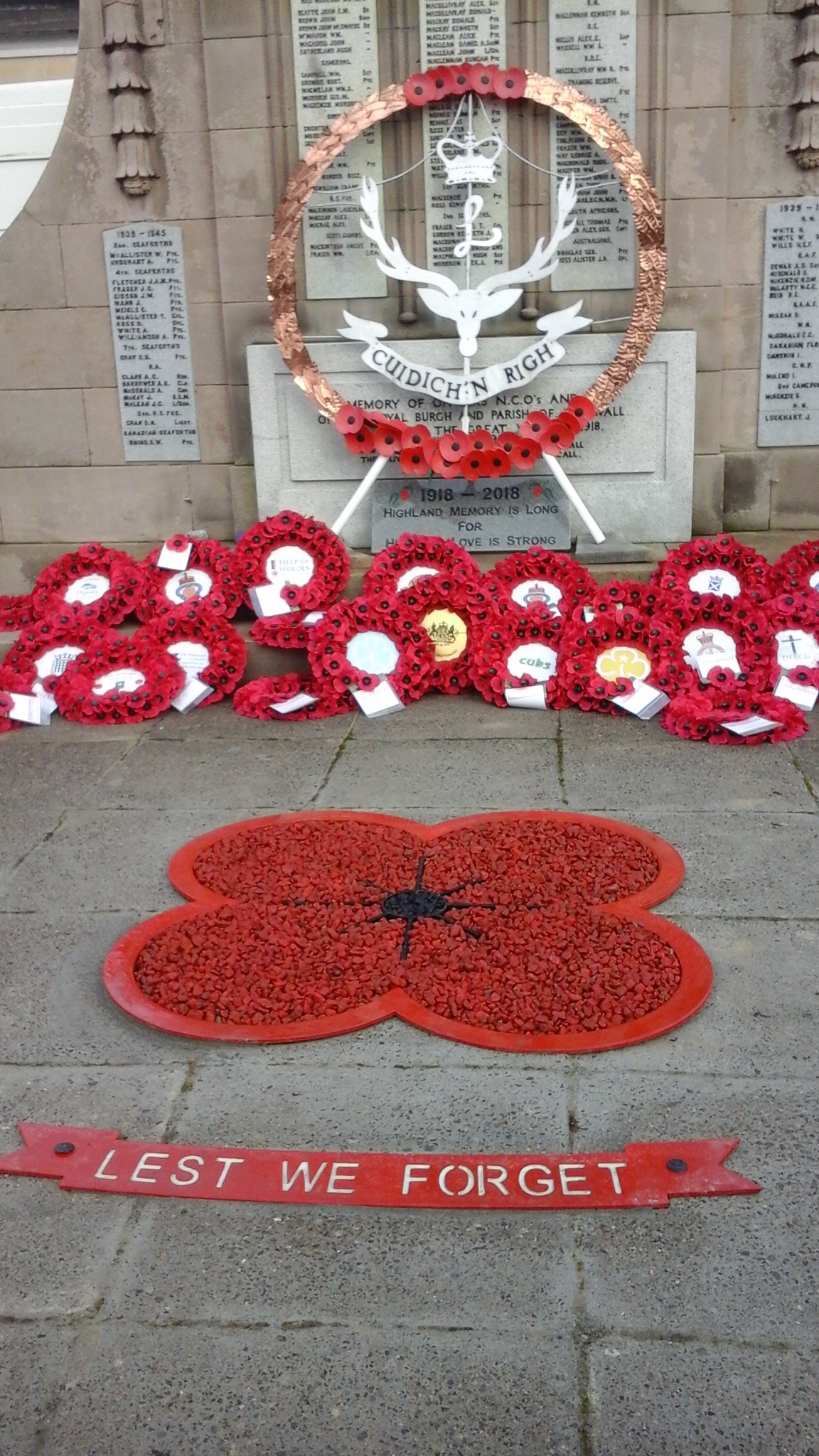 40 Dingwall Remembrance 2018