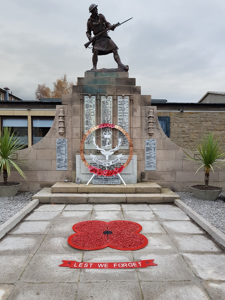 02 Dingwall Remembrance 2018