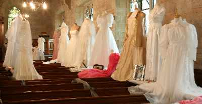 wedding dress display 24