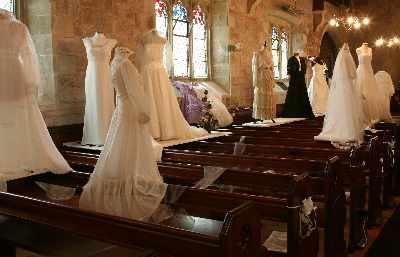 wedding dress display 25