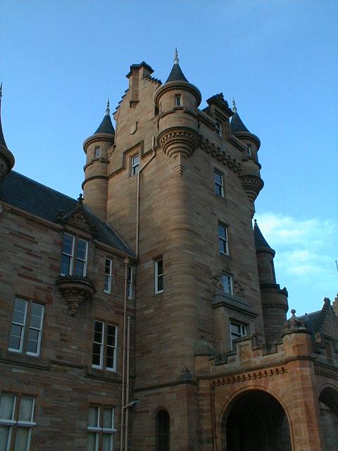 Ardross Castle tower