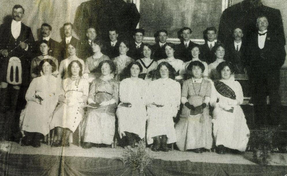 Dingwall Gaelic Choir 1913