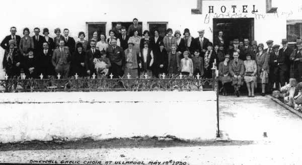 Dingwall Gaelic Choir 1930