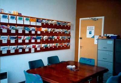 Interior of the Dingwall Citizens Advice Bureau office