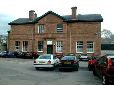 Front view of Dingwall Community Centre