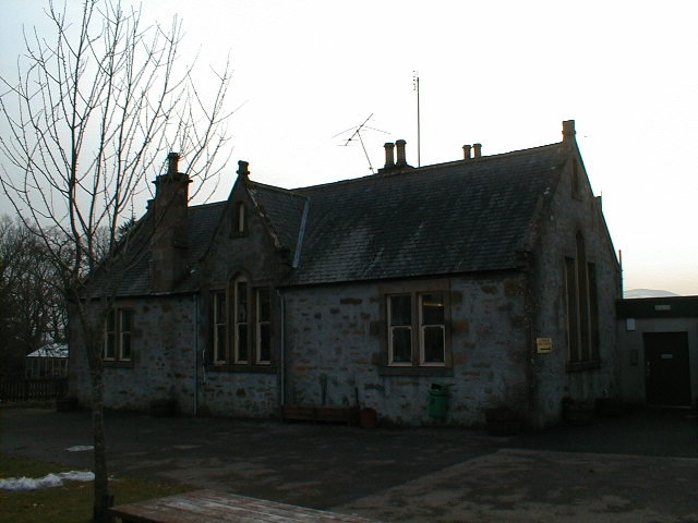 The main building of Ardross Primary School.