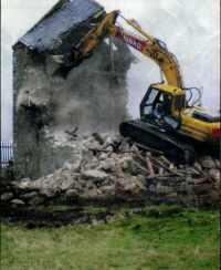 The Grinal demolition