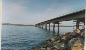 Dornoch Bridge.  Opened 1991