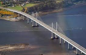 Kessock Bridge.  Opened 1982