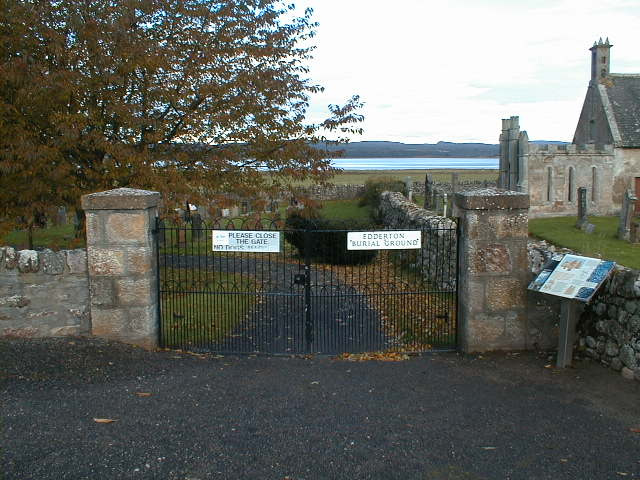 The entrance to the burial ground.