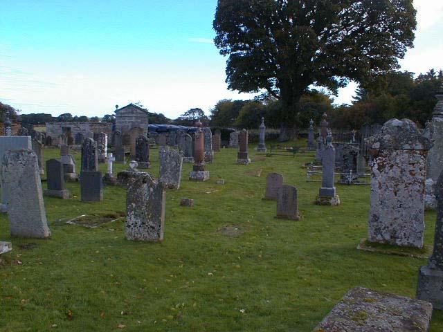Some of the older gravestones.
