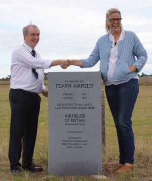 Fearn Airfield, also known as HMS Owl