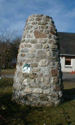 Millennium cairn, Culbokie.