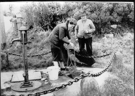 Cow Tail Well in Culbokie as it was in 1951