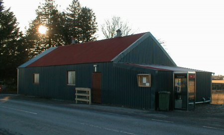 Mulbuie Community Hall.