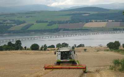 Combining gets under way in the Black Isle