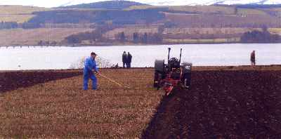 Ploughing Match at Findon Farm