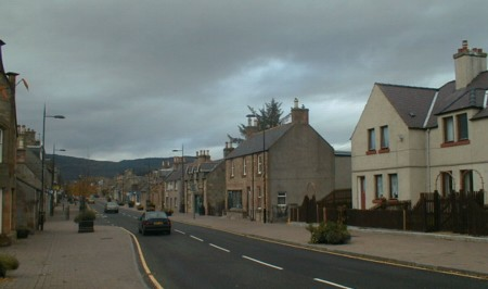 South East Alness High Street