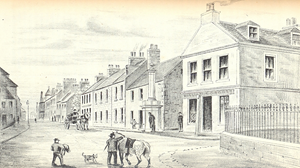 Fortrose High Street.19th century.