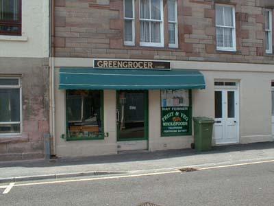 The Greengrocer, Fortrose.