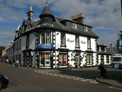 The Royal Hotel, Fortrose.