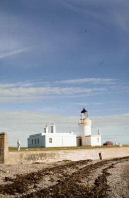 Chanonry Point with its outstanding lighthouse