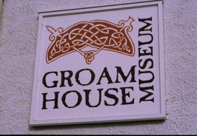 Groam House Museum sign