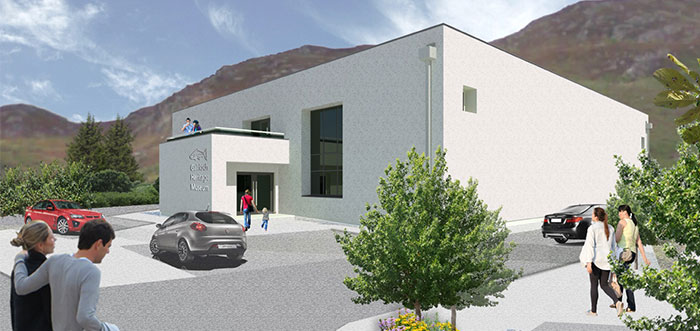Artists impression of new Gairloch Museum