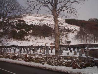 New churchyard, Gairloch