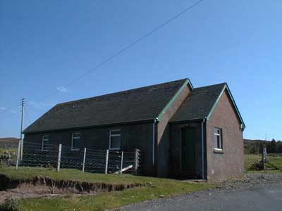 The Free Presbyterian meeting house, Opinan.