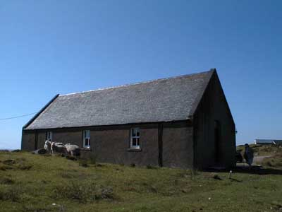 The Free Church meeting house, Opinan