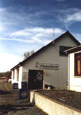 Chandlery, Gairloch Pier