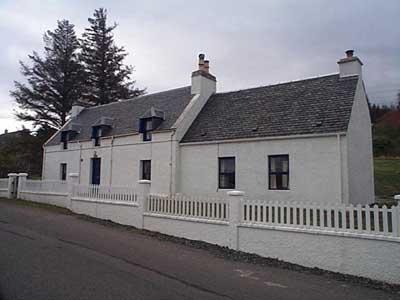 Honeysuckle Cottage and Shop, Badachro