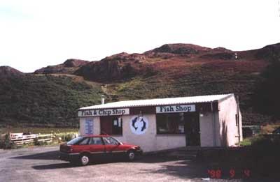 Fish Shop, Gairloch