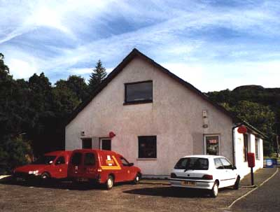 The Main Post Office, Gairloch - Exterior