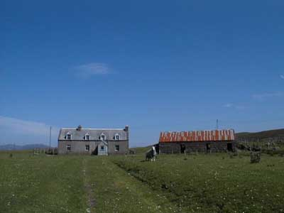 Old Post Office and Steading, Opinan