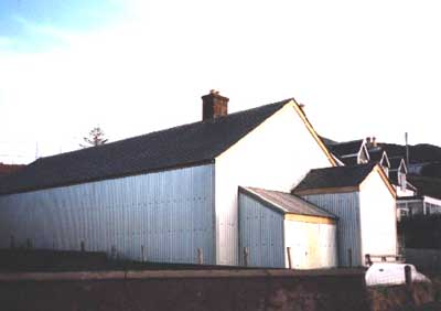 Old drill hall, Opinan