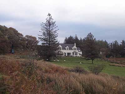 Aird Farm House:  view from Aird road.