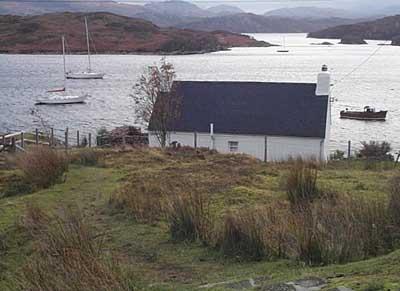 Isle Horrisdale, a fisherman's cottage
