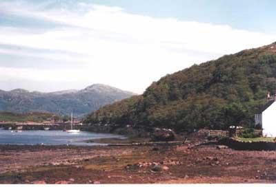 Badachro jetty