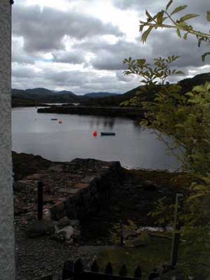 Jetties in front of Aird House