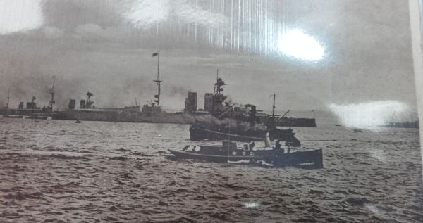 Invergordon and the Cromarty Firth are synonymous with the Grand Fleet during WW1