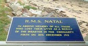 Memorial plaque, Invergordon