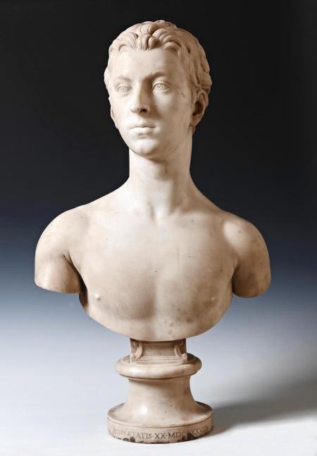 Bust of Sir John Gordon by Esme Bouchardon