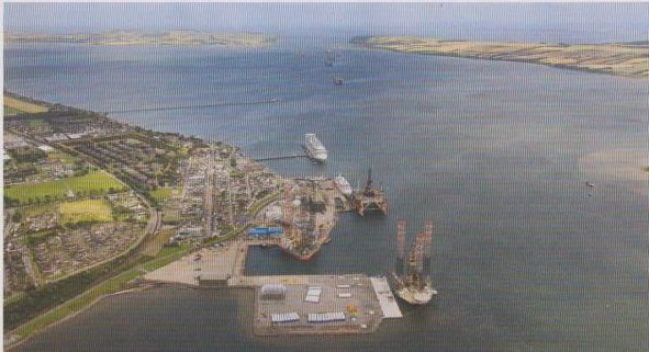 The port of Invergordon