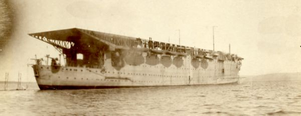 One of the floating docks used in Fleet repairs during WW1 ??