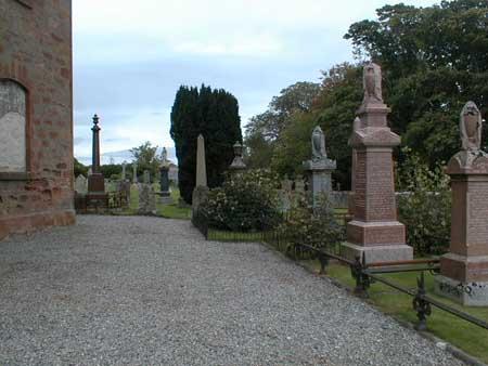 Older part of Rosskeen Burial Ground