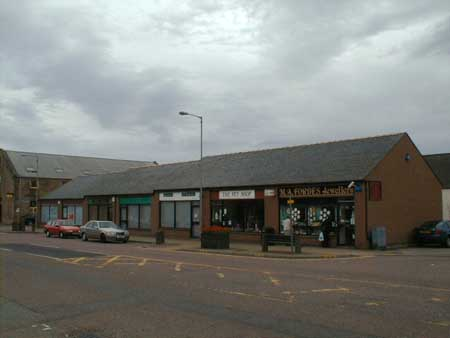 Forbes, Jewellers, and The Pet Shop, High Street, Invergordon.